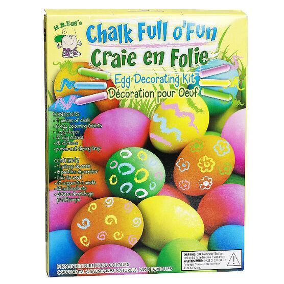 Easter Chalk Egg Decorating Kit