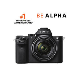 Sony Alpha A7 II Body with 28-70mm Lens - Black - ILCE7M2K