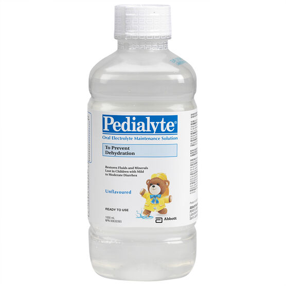 Pedialyte Oral Rehydration Solution - Unflavoured - 1L