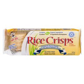 Hot-Kid Rice Crisps - Coconut & Sweet Potato - 100g