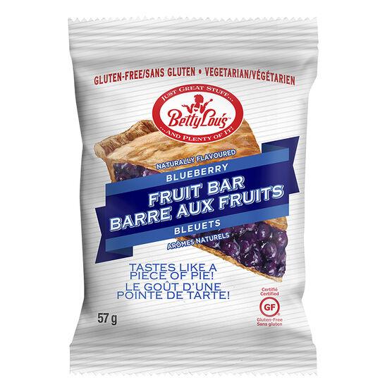 BettyLou's Fruit Bar - Blueberry - 57g