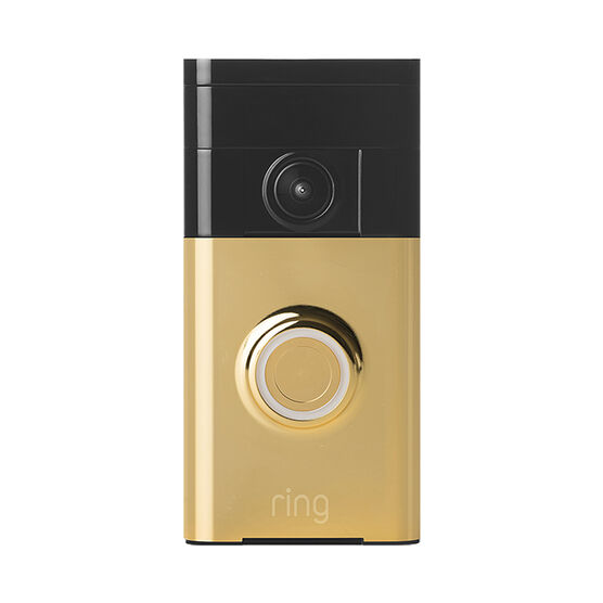 Ring Wi-Fi Video Doorbell - Polished Brass