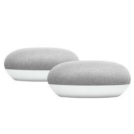 Google Home Mini - 2 Pack - Chalk/Chalk - PKG #13750