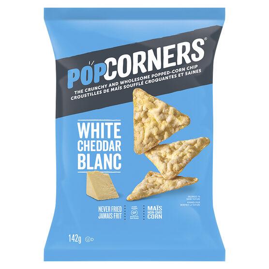 PopCorners Popped Corn Chips - White Cheddar - 142g