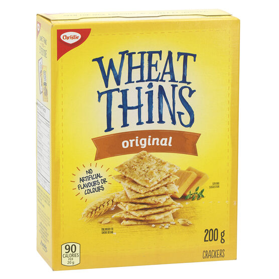Christie Wheat Thins - Original - 200g