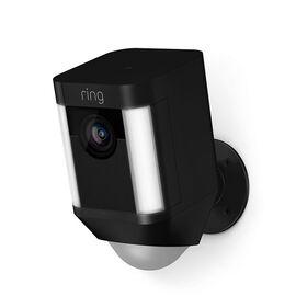 Ring Spotlight Camera - Black - RING-8SB1S