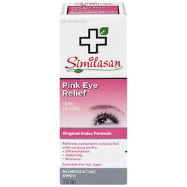Similasan Pink Eye Relief Eye Drops - 10ml