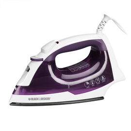Black & Decker Value Steam Iron - Purple - IR04VC