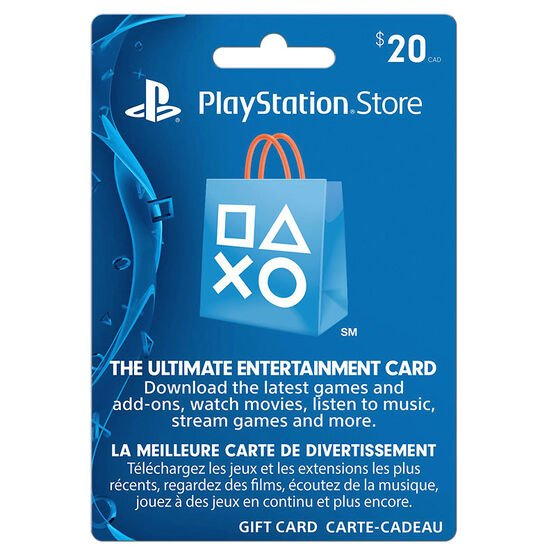 playstation network gift card 20 london drugs. Black Bedroom Furniture Sets. Home Design Ideas