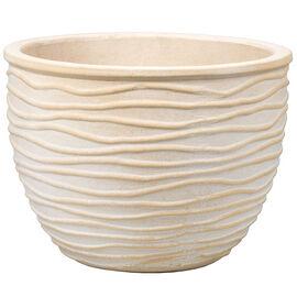 London Drugs Embossed Terracotta Indoor Pot - Sand Wash