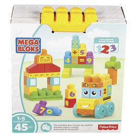 Mega Bloks 123 Counting Bus Set