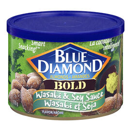 Blue Diamond Bold Almonds - Wasabi & Soy Sauce - 170g