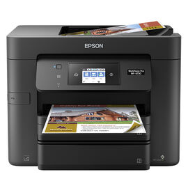 Epson WorkForce Pro WF-4730 All-in-One Printer - Black - C11CG01201