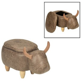 London Drugs Animal Footstool with Storage - Bull