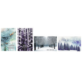 A Greetings Deluxe Greeting Cards - Winter Theme - 14 Cards