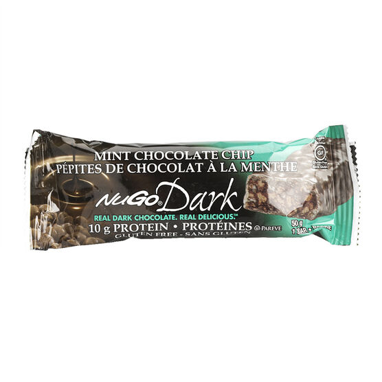 NuGo Dark Mint Chocolate Chip Protein Bar - 50g