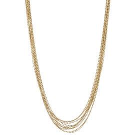 "Anne Klein Multi-Row Necklace - 16"" - Gold"