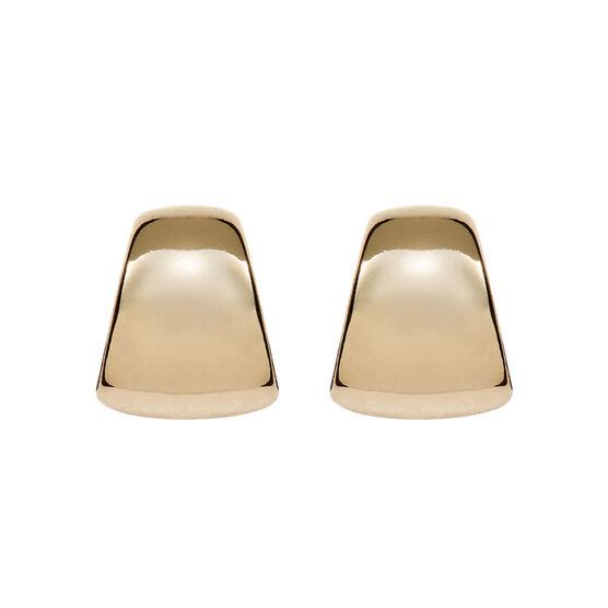 Anne Klein Button Post Earrings - Gold