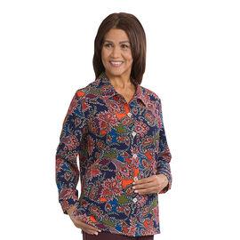 Silvert's Women's Long Sleeve Regular Blouse - 38 - 44