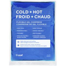 Cryopak Cold + Hot Flexible Gel Compress - 11 x 15inch