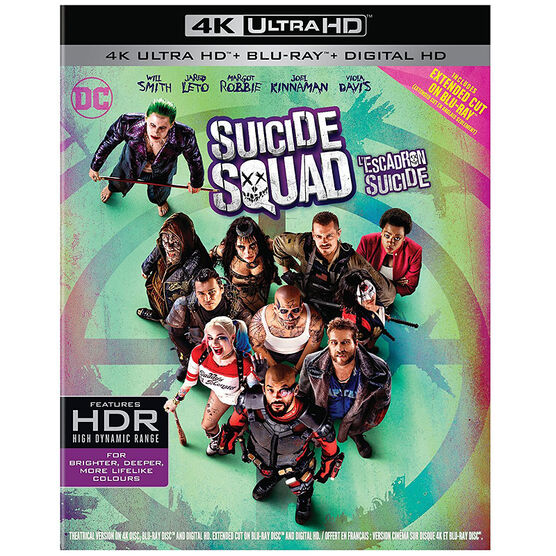 Suicide Squad - 4K UHD Blu-ray