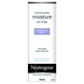 Neutrogena Moisture Oil-Free for Sensitive Skin - 120ml