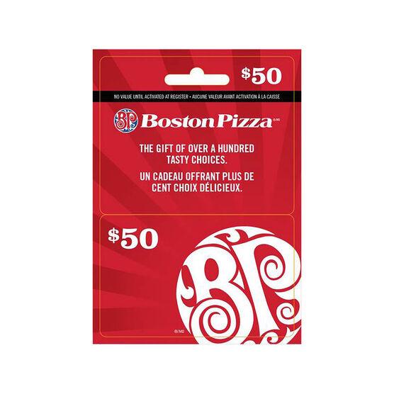 Boston Pizza Gift Card - $50
