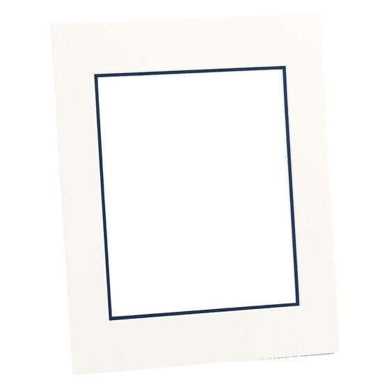 Tempo 11x14 Mat Frame - Chantilly/Mid-Blue