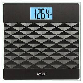 Taylor Digital Bath Scale - Black Pyramids - 79124073EF