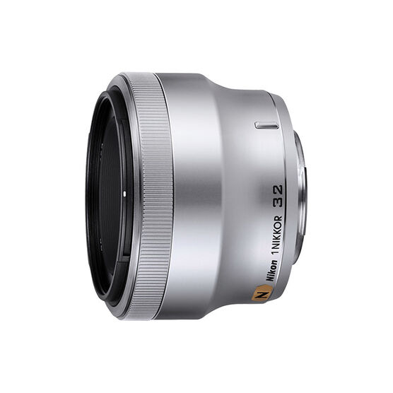 Nikkor 1 32mm f/1.2 Lens - Silver - 3360 - Open Box Display Model