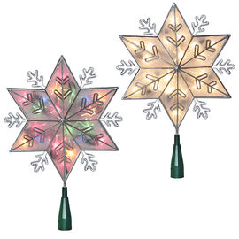 Danson Indoor Snowflake Tree Topper - Clear - 20's