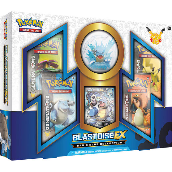Pokémon Trading Cards Game - 20th Anniversary Blastoise-Ex Red & Blue Collection