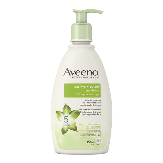 Aveeno Active Naturals Positively Radiant Body Lotion - 354ml