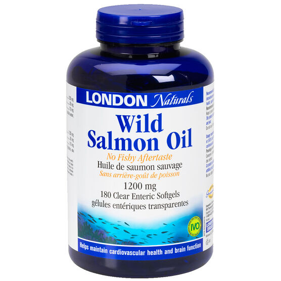 London Naturals Wild Salmon Oil - 1200mg - 180's