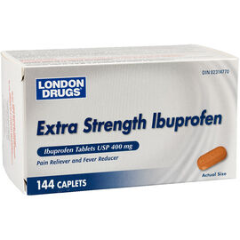 London Drugs Ibuprofen - Extra-Strength - 400mg - 144's