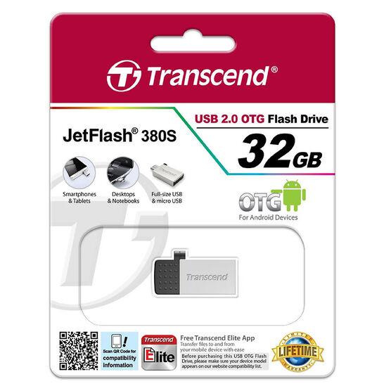 Transcend USB 2.0 OTG Flash Drive - 32GB - TS32GJF380