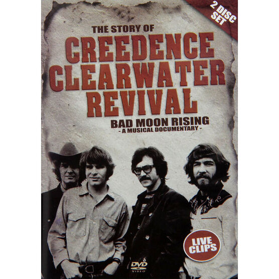 Creedence Clearwater Revival: Bad Moon Rising - DVD