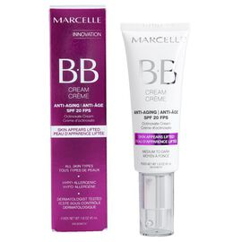 Marcelle BB Cream Anti-Aging SPF 20 - Medium to Dark - 40ml