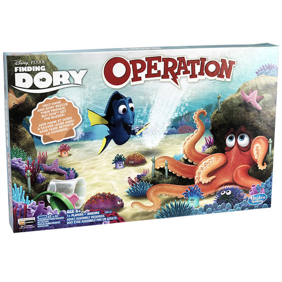Operation - Finding Dory