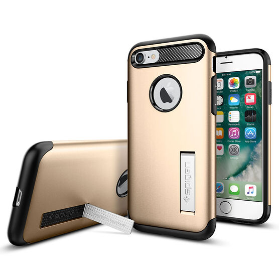 Spigen Slim Armor for iPhone 7 - Gold - SGP042CS20302