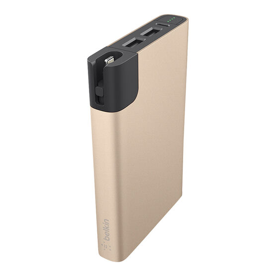 Belkin Power Rockstar 10000 mAh Battery Pack - Gold - F8M993btGLD