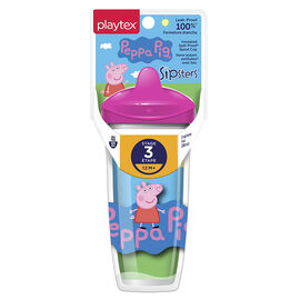 Playtex Spout Cup - 266ml - Stage 3 - Peppa Pig - Assorted