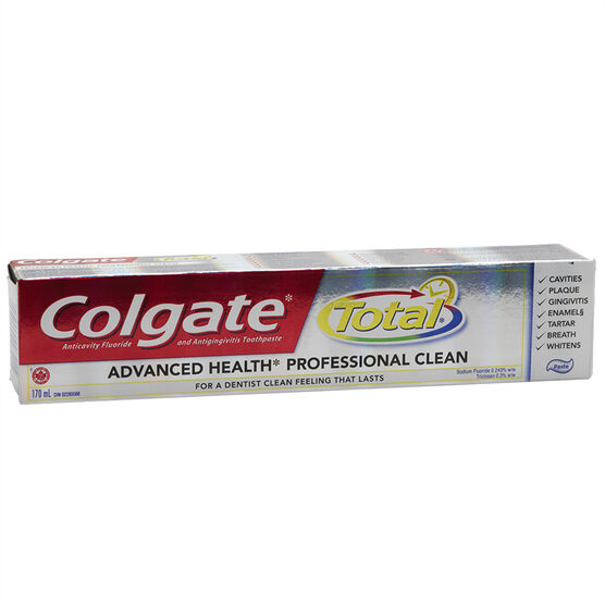 Colgate Total Advanced Health Toothpaste - Mint - 170ml