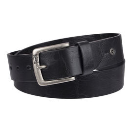 Levi's 38mm Men's Belt Cut Edge with Stitching Detail
