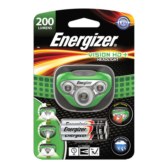 Energizer Vision HD+ LED Headlight - HDC32E/200