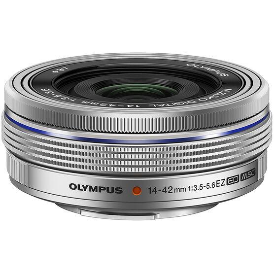 Olympus 14-42mm F3.5-5.6 Lens - Silver - V314070SU000