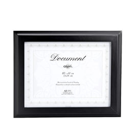 KG Oxford 8.5 x11 Document Frame - Black