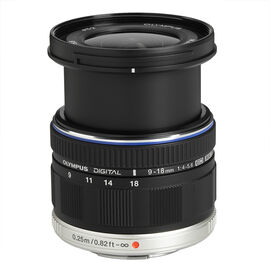 Olympus 9-18mm f/4.0-5.6 M.Zuiko Digital ED Lens