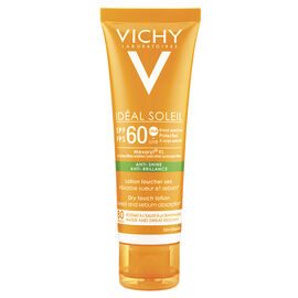 Vichy Ideal Soleil Anti-Shine Dry Touch Lotion SPF60 - 50ml