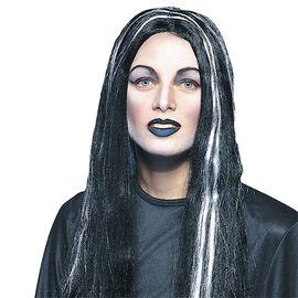Halloween Long Flowing Wig - Streaked